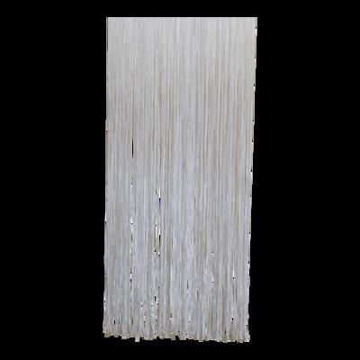 Deurgordijn PVC Spaghetti wit 90x220cm