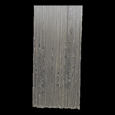 Deurgordijn PVC Spaghetti grijs 90x220cm