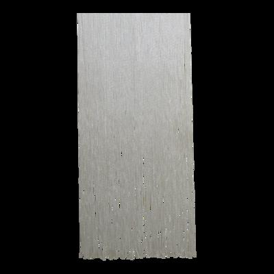 Deurgordijn PVC Twist wit 100x230cm