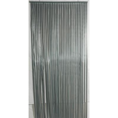 Deurgordijn PVC Tris antraciet/grijs 100x230cm