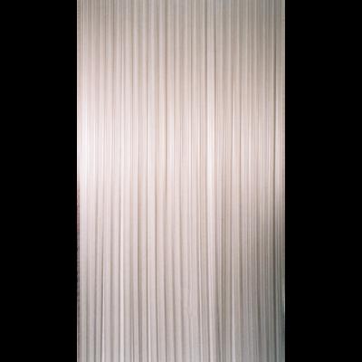 Deurgordijn PVC Tris wit 90x220cm