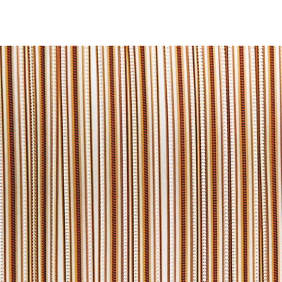 Deurgordijn PVC Tris bruin 90x220cm