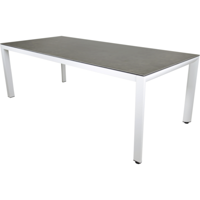 Tafel Mojito Ceramic Blanco 220x100cm