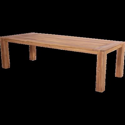 Tafel Serra loungedining acacia hout 240x100cm