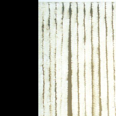 Deurgordijn chenille wit 90x200cm, 21 strengen