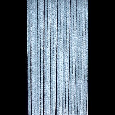 Deurgordijn chenille grijs 90x220cm