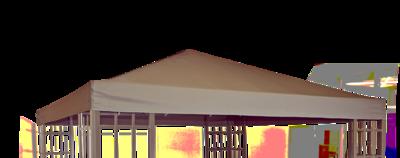 Paviljoendak Royal taupe