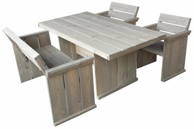 Tuintafel Toulouse 160 cm FSC 100% Showroommodel