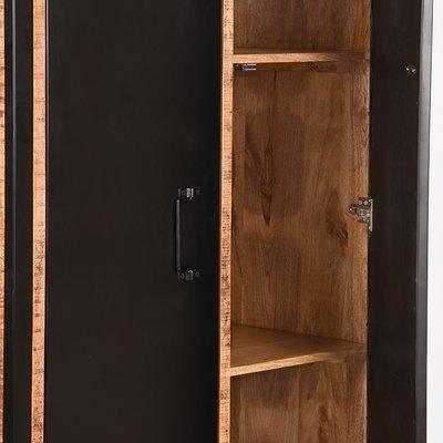 LABEL51 - 2-Deurs Kast Brussels 100x45x180 cm