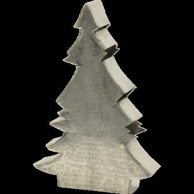 Kerstboom Carpo alu  23x6x34cm
