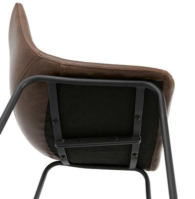 Design barkruk GAUCHO Bruin