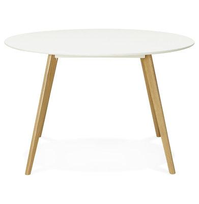 Design Eettafel CAMDEN Wit
