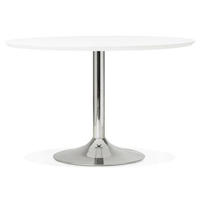 Design Eettafel BLETA 120 Wit