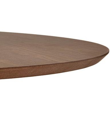Design Eettafel BLETA 120 Walnoot