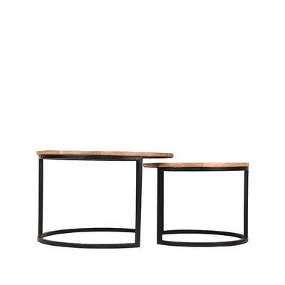 LABEL51 - Salontafel Set Double 70x70x45 cm