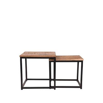 LABEL51 - Salontafel Set Twain 45x45x45 cm