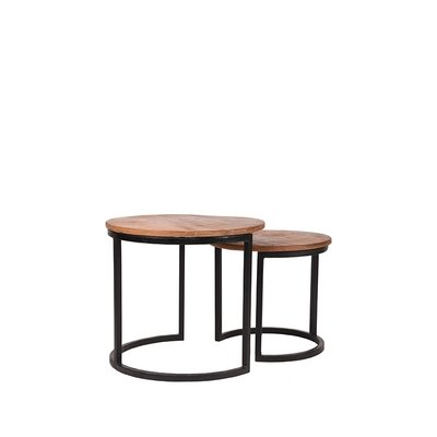 LABEL51 - Salontafel Set Duo 50x50x45 cm