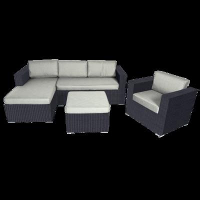Lounge-hoekset Jazz Black