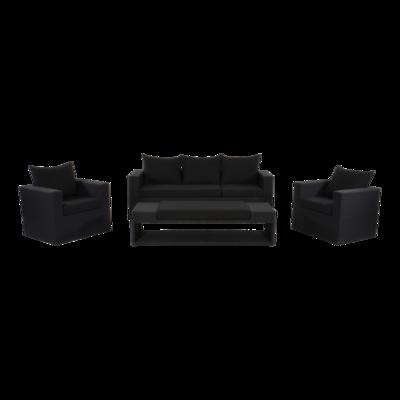 Loungeset Roma Black