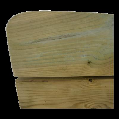 Weidebank naaldhout 180cm