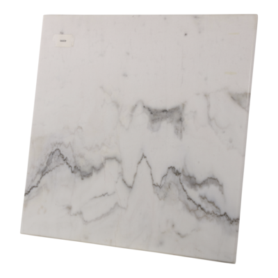 Tafel marmer wit 60x60cm