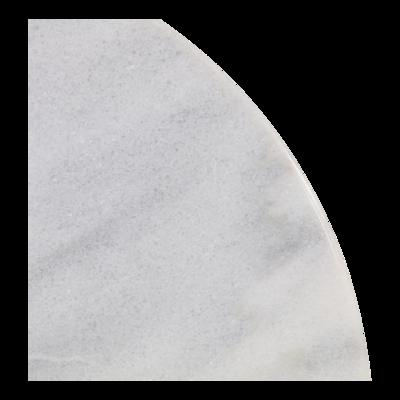 Tafel marmer wit Ø60cm